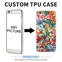 Wholesale fresh arts - Art Printed Soft Silicon Case For Apple iPhone 5S 6 7 7plus SE Cute Fresh Flowers Pattern DIY Customize TPU Gel Cover Coque