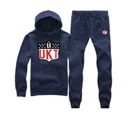 Wholesale Thick Fleece Pants Men 3xl - Unkut New brand Mens Hoodie sweatshirt fashionable male plus wool thick coat blank wholesale tide Cotton hoodie +pants