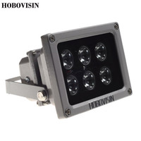 HOBOVISIN CCTV Array IR illuminatore a infrarossi 6pcs ArrayLed IR Light Outdoor Night Vision impermeabile per CCTV Camera