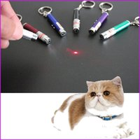 Wholesale Pet Laser Light - Laser Tease Cats Rods, The New Cat Toys LED Light Laser Funny Interactive Cat Pen Toys Goods For Pets Juguetes De Gatos