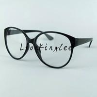 Wholesale Demo Lenses - Women Adult Glasses Eyewear Round Frame Spectacles Retro Eyeglasses Shade Optical Demo Clear Lenses Many Colors YC024