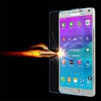 ingrosso vetro per samsung s3-Per Samsung Galaxy S3 S4 S5 S6 S7 s6 bordo s7 bordo s8 s8 plus nota 8 9H Premium protezione schermo in vetro temperato 200pcs / lotto