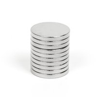Wholesale N35 Rare Earth - Mathtype magnets 100pcs N35 Super Strong Round Disc Cylinder 12 x 1.5mm Magnets Rare Earth Neodymium