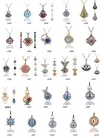 Wholesale harmony ball locket resale online - Fashion Mexico Styles Pregnant women jewelry Hollow Harmony Ball Chime Pendant necklaces styles Baby Chime Necklace