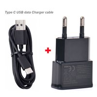 Wholesale asus cell phones - EU US Adapter 2A 2.4A USB Mobile Phone Cell Phone Travel Chargers Type C USB Data Cable For ZTE Blade V8 Pro,Asus Zenfone AR ZS571KL