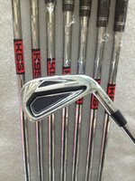 Wholesale Kbs Steel Iron Shafts - Golf Cluba AP2 716 Irons set 3456789P With Kbs tour 90 steel R shaft 8PCS 716 AP2 Golf Irons Right hand