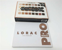Wholesale Eye Shadow Palette 32 - Lorac Mega Pro 3 Palette Eyeshadow 32 Colors Palette Shimmer Matte Brands Eye Shadow Palette Makeup