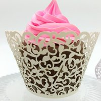 Mixed Styles Oco Flower Butterfly Cupcake Beautiful baking muffin Bolo Mould Cup Aniversário Wedding Party Decor Cupcake Cake Holder