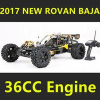 Wholesale Baja 5b Rc Car - Wholesale- 2017 New Style Rovan Baja 5B 360 with 36cc Engine Walbro 1107 Gas Rc Car