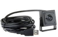 Wholesale cheap camera lens online - 1 MP mini usb pin hole camera x30mm cheap usb camera for atm machine with mp pinhole lens plug play