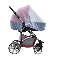 Wholesale Midges Net - Wholesale- Retail Trendy Infants Baby Stroller Mosquito Net By Pram Protector Pushchair Fly Midge Insect Bug Cover accessories curtain