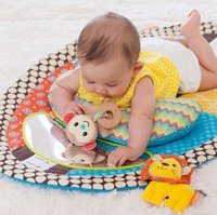 Wholesale- Musical Baby Play Mat Nouveau-né Toy Infantil Early Education Game Blanket Miroir Jouets 0-12 mois - DBYC015 PT49