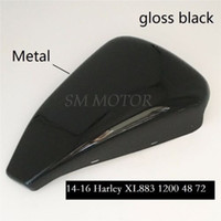 Wholesale Motorcycle accessories Gloss black Left Side Battery Cover for Harley Sportster XL