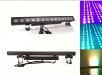 Barato Parede Da Mostra Da Luz-14x30W LED DMX 2/3/5/8/42 / 44CH Wall Washer Lighting Bar LED Stage Pixel Light Party DJ Show impermeável IP65 LLFA