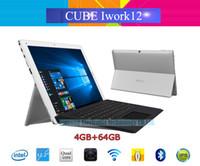 tabletas de nueva llegada al por mayor-Al por mayor- Nueva llegada 12.2 '' IPS Cube Iwork12 Windows 10 Home + Android 5.1 PC con sistema operativo Dual 1920x1200 Intel Atom X5-Z8300 Quad Core HDMI