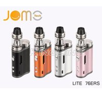 Wholesale Er Glass - Starter Kits 76W Jomo Powerful Lite 76 ers TC Mod Free Vape Mods 510 Thread vape mini e-cig mod lite 76ERS box mod