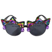 81099300e6 Gafas de sol barrocas moda diseñador de lujo para mujer gafas de sol ojo de  gato Gafas de sol marco negro gafas de sol de diseño especial Marca Set  Auger ...