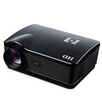 Wholesale H3 Projector - Wholesale-Hot Selling H3 LED LCD Projector 1280 768 3000 Lumen Full HD 3D Home Cinema Business Education Home TOPS LED Overhead Projector