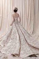 Wholesale Strapless Empire Maternity Wedding Dress - Arab Dubai Pakistan Turkey heavily embroidery lace beaded A-line strapless wedding dresses 2018 Krikor Jabotian bridal wedding gowns