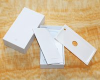 Wholesale Iphone Accessory Plug - Wholesale Factory Direct Cell Phone Box Empty Boxes Retail Box for Iphone 5 6 6s 6s plus 7 7s plus with Full Accessories US plug