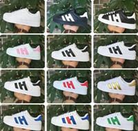 conchas de calidad al por mayor-2017 de alta calidad calientes nuevas marcas zapatos casuales hombres y mujeres cortez zapatos ocio conchas zapatos de moda de cuero al aire libre zapatillas JK78