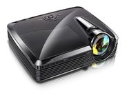 Wholesale Dlp 3d Short Throw Projector - Wholesale- Portable 5500lumen Data Show HD DLP HDMI 3D Short Throw Projector Perfect For Business Meeting   School   Advertising