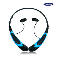 Wholesale Bluetooth Earphones For Cellphones - HBS 760 Wireless Earphone Bluetooth Sport Earphone Hook Neckband Headset Stereo Music Player For Universal Cellphone With Retail Package