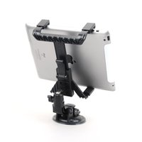 Wholesale Cup Holder Car Tablet - Wholesale- Tablet Car Suction Cup Mount Car Holder For iPad 1 2 3 mini HTC SAMSUNG Tablet