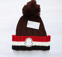 Wholesale Christmas Decoration Patchwork - High quality hat fashion leisure lady hat cashmere hat warm decoration ball hats knitted wool hat