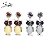Wholesale Cheap Owl Gifts - AGOOD Jewelry Wholesale Cheap New Cute Owl Dangle Earring Birthday Gift Free Shipping