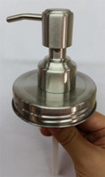 100 Sets DIY Mason Jar Soap Dispenser Pump Lid And Collar For Mason Liquid lotion Pump HY-01B