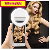 "Wholesale Wholesale Halo Charger - High class Selfie ring light with USB charger Long standby time ""Halo Effect"" on the eyes yet not dazzling"