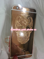 Wholesale iphone engraved back for sale – best For Iphone6 rose golden concept housing back s plus rose gold housing and for iphone6 plus real gold with engraving deep