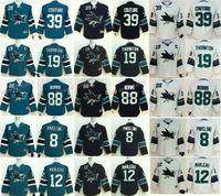 Wholesale 48 Sharks Jersey - Youth Joe Thornton Jersey 19 San Jose Sharks Children Hockey 8 Joe Pavelski 12 Patrick Marleau 39 Logan Couture 88 Brent Burns 48 Tomas Hert