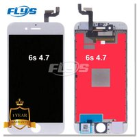"Wholesale Iphone Screen Without Lcd - Grade AAA Quality iPhone 6s LCD Display Touch Screen Digitizer full Assembly 6s 4.7"" Complete Screen Free DHL WITHOUT dead pixel Problem"