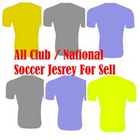 Wholesale Plus Size XL Any soccer jerseys ALEXIS OZIL Higuain IBRAHIMOVIC KUN AGUERO Ronaldo Bale OZIL DE BRUYNE football shirt