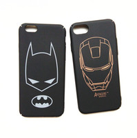 Wholesale Iphone 3d Cases Iron Man - For iPhone 7 Case 3D Super Hero Iron Man Full Protective Cover for iPhone7 6 s 6s plus 6plus Phone Cases