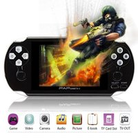Wholesale 4gb Mp5 Game Player - 64Bit PAP Gameta-II 4G 4GB PMP PSP MP4 MP5 Video Game Consoles Support 2.4G Wireless Handheld Player Gameta 2 GAMEPAD