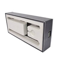Wholesale Wood Space - In stock IT data leather storage large space iphone ipad charge line big space storage box