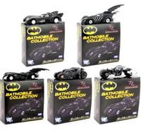 Wholesale Dark Knight Car - Batman Batmobile Collection Dark Knight 1:64 scale and 5 pieces per lot