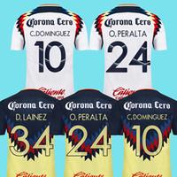 e9b658722 Soccer Men Short 2017 2018 mexico club america soccer jerseys 17 18 Liga MX  PERALTA DOMINGUEZ