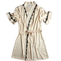 Seide Bademantel Frauen Satin Kimono Robes Für Frauen Robes Brautjungfern Lange Kimono Robe Braut Silk Robe Dressing Gown