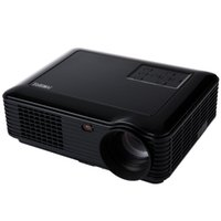 Wholesale Power Support Lcd - Wholesale-Powerful SV - 228 Home Theater 4000 Lumens 1280*800 Pixels 160W Power Multimedia LCD Digital Projector Support Red-Blue 3D
