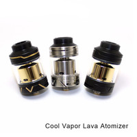 Wholesale Lava Vapor Cigarette - Original Coolvapor Lava RTA Atomizer Cool Vapor Lava Tank with 3ml   Top Filling   Bottom Adjustable Airflow for E Cigarette