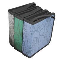 hdd depolama kutuları toptan satış-Toptan-Yeni 40 Disk CD DVD Kutusu Depolama Tutucu Taşıma çantası Organizatör Kol Cüzdan Kapak Çanta Kutusu CD DVD Tutucu Depolama Kapak Rastgele Renk