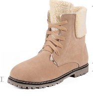 Wholesale Shoes Warm Very - Autumn Winter new cotton soft comfortable shoes Martin boots with very popular all size and wear warm