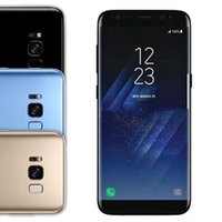 Wholesale Dual Sim Free Smart Phone - Free DHL Goophone S8 plus 6.2 inch Android 7.0 Real Fingerprint Touch ID 16GB Quad Core Smart phone show Octa 64GB 4G LTE Unlock Cell Phones