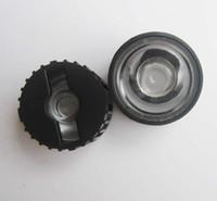 Wholesale Led Holder Lens - Wholesale- 100pcs 5 8 15 25 30 45 60 90 120 degrees LED Lens With Black Holder For 1W 3W 5W High Power LED Lamp Light