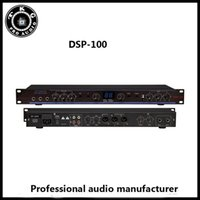 Wholesale DHL shipping pre effector DSP sound system audio processor DSP Professional Digital Karaoke Preamp DSP100 Processor