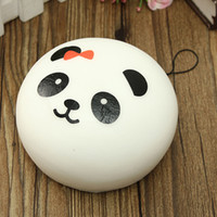 7CM Jumbo Cute Panda Squishy Kawaii Buns Bread Charms Chave / Saco / Telefone celular Straps Charm Wholesale Best Price